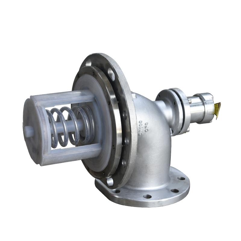 6寸钢衬塑海底阀DN150